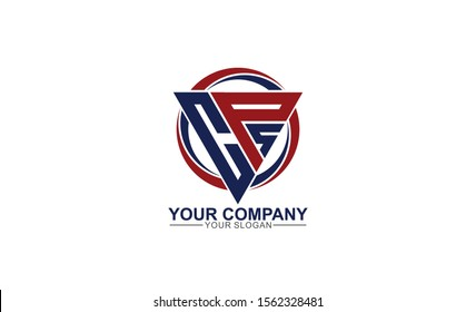 creative simple modern strong initial CPS Logo template vector icon for any business,  accounting, consulting, fitness, real estate. constructions