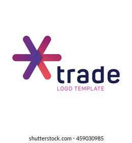 Creative trade logo