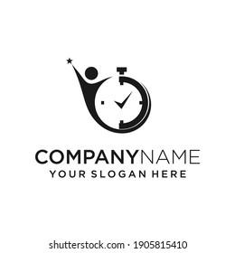 creative and unique logo success time