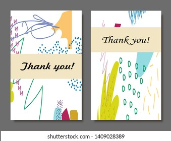 Creative universal artistic cards. Trendy Graphic Design for banner, poster, invitation, cover, placard, brochure, header. - Shutterstock ID 1409028389