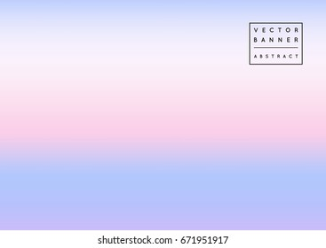 Creative vector abstract background in soft pastel colors, pink, blue and violet