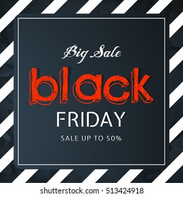 Creative vector abstract for Black Friday Offer or Sale with nice and creative design illustration in a background.