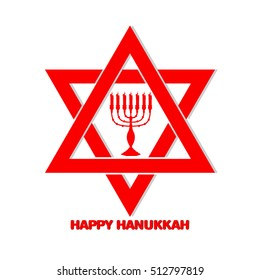 creative vector abstract for Happy Hanukkah with nice and beautiful design illustration in a background.
