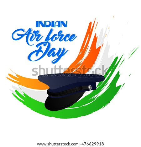 Creative Vector Abstract Indian Air Force Stock Vector Royalty Free
