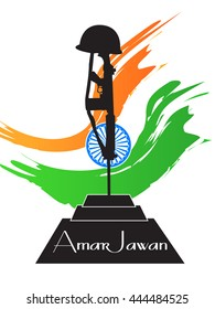 creative vector abstract for Kargil Vijay Diwas with nice and creative illustration in a creative background.