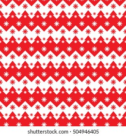 Creative vector Christmas background texture, seamless pattern with snowflakes.