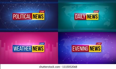 Weather Report Images Stock Photos Vectors Shutterstock