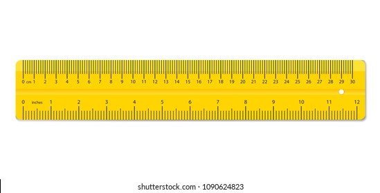 Creative vector illustration of realistic colorful rulers isolated on background. Art design measuring tool supplies. Abstract concept graphic element