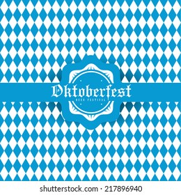 creative vector illustration set of labels, badges and design elements on the Oktoberfest beer festival