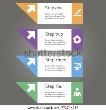 Creative Vector Info Graphik Communication Stock Vector (Royalty