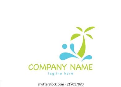 Creative vector logo design template.