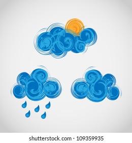 creative weather icons