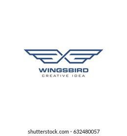 Creative Wings Concept Logo Design Template