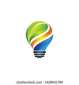 Creativity Concept with light bulbs, Light Bulbs Icon Vector Image, Light Blubs Eps10,