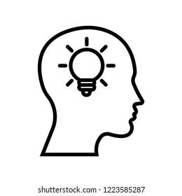 Creativity vector icon
