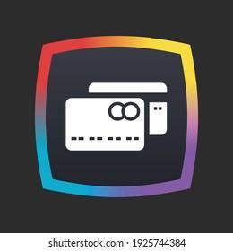 Credit Card - App Icon Button