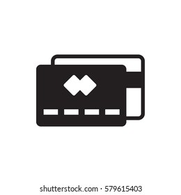 credit card icon illustration isolated vector sign symbol