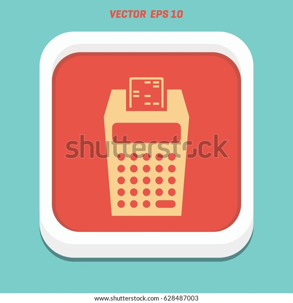Credit Card Payment Magnetic Stripe Reading Stock Vector