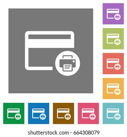 credit card cvv code icons labels stock vector royalty free