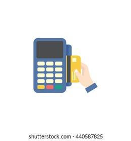 credit card reader machine.