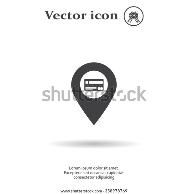 Credit card ,vector, bank pointer