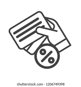 Creditcard vector icon