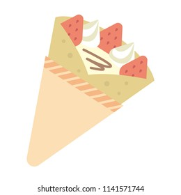 crepe color illustration
