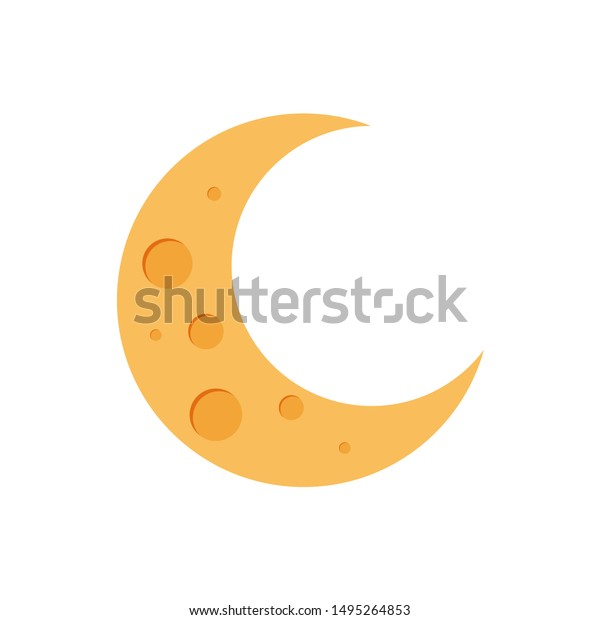 Crescent Shape Clip Art At Clker - White Crescent Moon Transparent  Transparent PNG - 540x597 - Free Download on NicePNG