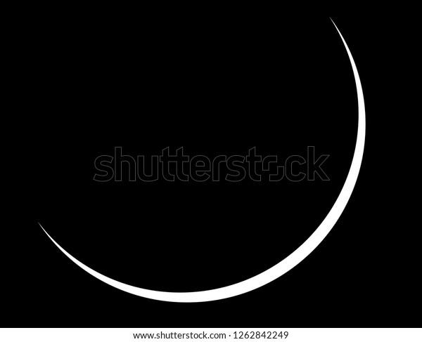 crescent moon vector background stock vector royalty free 1262842249 https www shutterstock com image vector crescent moon vector background 1262842249