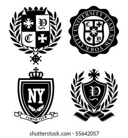 crest badge