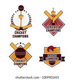 Cricket champions emblem