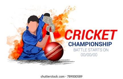 Cricket championship, playing cricket