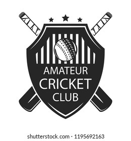 Cricket Logo Images, Stock Photos & Vectors | Shutterstock
