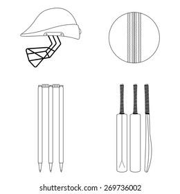 Cricket Bat Images, Stock Photos & Vectors   Shutterstock