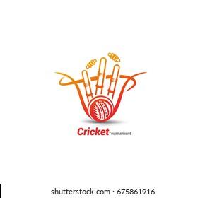 Cricket icon, cricket fever, vector illustrstion