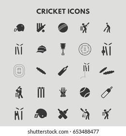 Cricket Icons