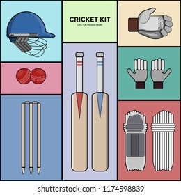 Cricket Kit - Vector Pack