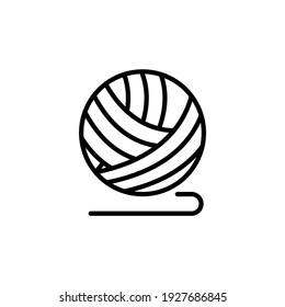 Crochet icon in vector. Logotype