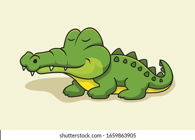 Crocodile Cartoon Alligator Cute Animals