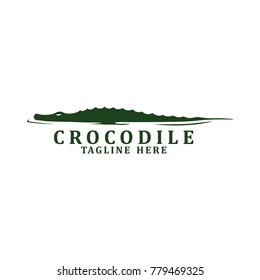 Crocodile Logo Vector
