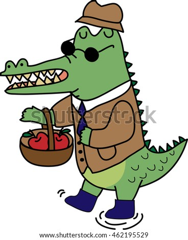 crocodile suit stock vector royalty free 462195529 shutterstock