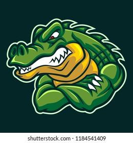 crocodiles mascot character