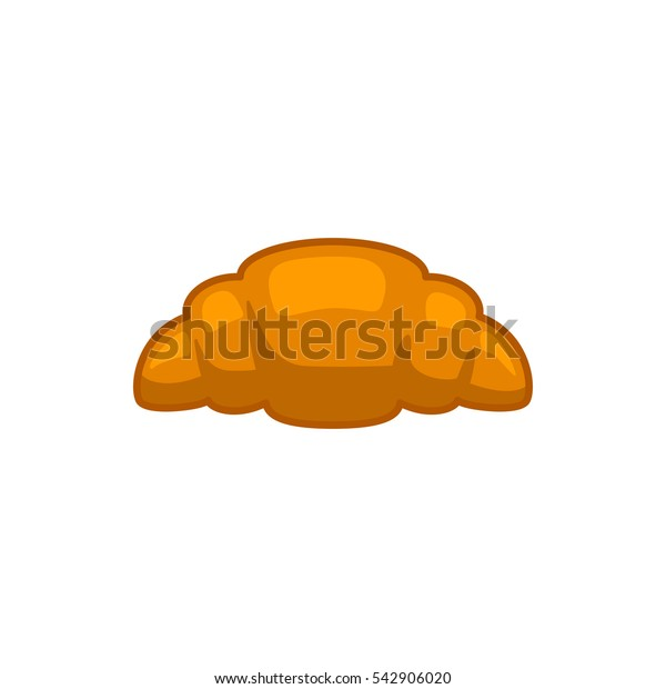 croissant icon illustration isolated vector sign symbol