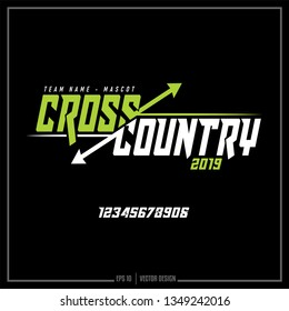 Cross Country, Team Name, Sport, Running sport, Cross Country team logo