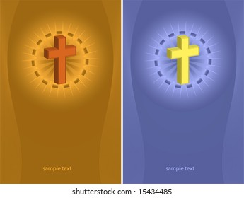 Cross Design abstract Background