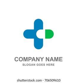 Cross Drugstore Medical Pharmacy Logo