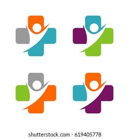 Cross Health care Logo Template Illustration Design. Vector EPS 10.