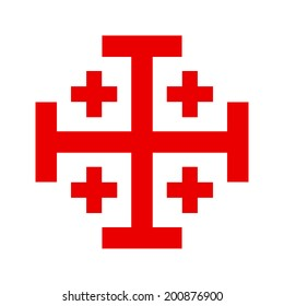 Cross of Knightly Order of the Holy Sepulchre of Jerusalem