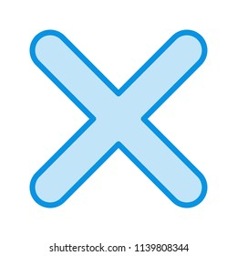 Cross Line Icon