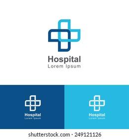 Cross medical icon